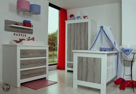 Bebies first bartje complete babykamer wit zwanger en ouder shop - Babykamer beige en wit ...