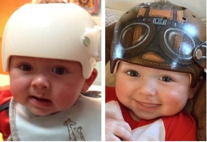 baby helm fiets