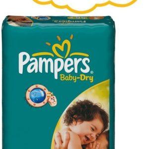Afbeelding van Pampers Baby Dry - Luiers Maat 3 - Voordeelpak 56st