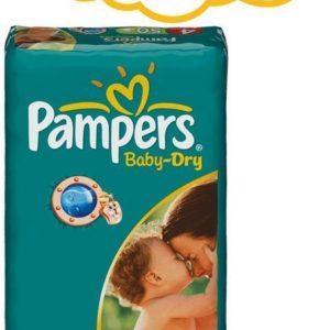 Afbeelding van Pampers Baby Dry - Luiers Maat 4 - Voordeelpak 50st