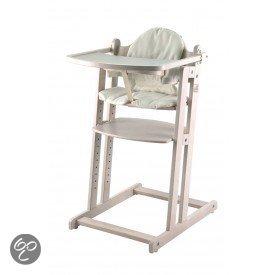 Afbeelding van Bebies first - Kinderstoel Thom Whitewash Set