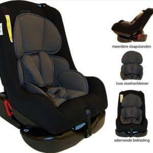 Afbeelding van Bebies First - Autostoel Remi Luxe Colorful - Black Anthracite