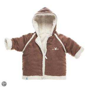 Afbeelding van Wallaboo - Baby overall 6-12 maanden - Bruin
