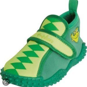 Afbeelding van Play Shoes - Zwemveiligheid Waterschoenen Krokodil - Groen - 26/27