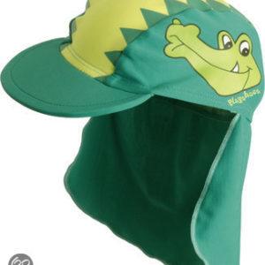 Afbeelding van Play Shoes - Zwemveiligheid Badmutsje Krokodil - Groen - 55cm