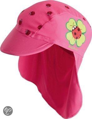 Afbeelding van Play Shoes - Zwemveiligheid Badmutsje Lieveheersbeestje - Roze - 51cm
