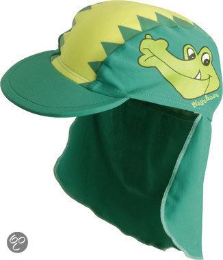 Afbeelding van Play Shoes - Zwemveiligheid Badmutsje Krokodil - Groen - 53cm