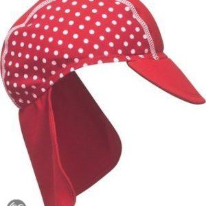 Afbeelding van Play Shoes - Zwemveiligheid Badmutsje Dots - Rood - 53cm