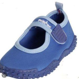 Afbeelding van playshoes Zwemveiligheid waterschoen blauw | Maat 28/29