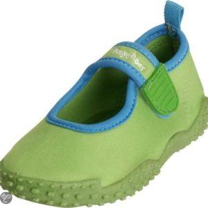 Afbeelding van playshoes Zwemveiligheid waterschoen groen | Maat 18/19