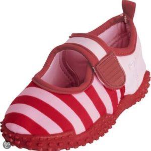 Afbeelding van playshoes Zwemveiligheid waterschoen Roze met rood  | Maat 18/19