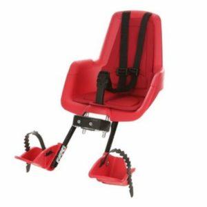 Afbeelding van Bobike - Mini Classic Fietsstoeltje met Kussenset - Rood