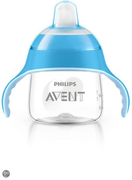 Afbeelding van Philips Avent - Beker met drinktuit SCF751/05 - 200 ml - Blauw