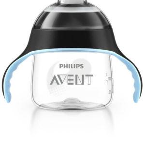 Afbeelding van Philips Avent - Beker met drinktuit SCF751/03 - 200 ml - Zwart