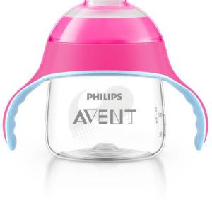 Afbeelding van Philips Avent - Beker met drinktuit SCF751/07 - 200 ml - Roze