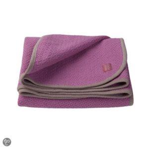 Afbeelding van Imps & Elfs - Honeycomb Blanket 110x150cm - Fuchsia