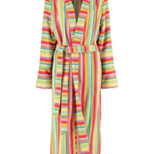 Afbeelding van Cawö dames badjas badstof  multicolor  maat 38