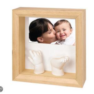 Afbeelding van Baby Art - Foto Sculpture Frame - Naturel