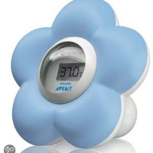 Afbeelding van Philips Avent SCH550/20 - Baby Bad en Kamer Thermometer - Blauw