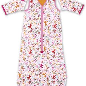 Afbeelding van Little Company - Solo Sleeper Star & Creature Babyslaapzak 110 cm - Roze