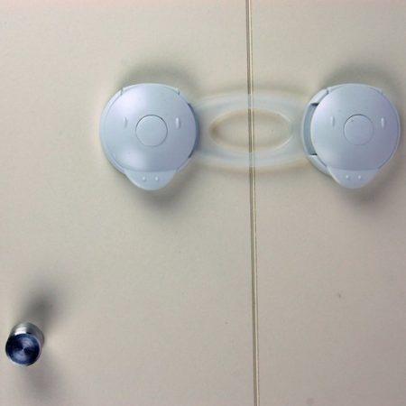 Afbeelding van Jippie's - Kastbeveiliging - Wit
