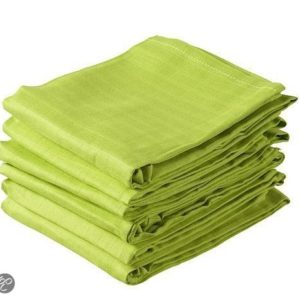 Afbeelding van Jollein - Hydrofiele Luier 6 stuks - Lime