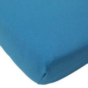Afbeelding van Jollein Little Naturals - Jersey Organic Hoeslakentje 75x150 cm - Turquoise