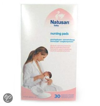 Afbeelding van Natusan - First Touch - Zoogcompressen