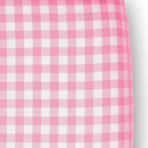 Afbeelding van Cottonbaby Boerenbont - Hoeslakentje 60x120 cm - Roze