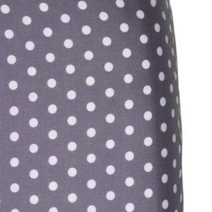Afbeelding van Cottonbaby Stip - Hoeslakentje 60x120 cm - Antraciet