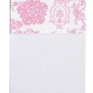 Afbeelding van Cottonbaby Toile de Joey Vlinder - Wieglaken 75x90 cm - Roze