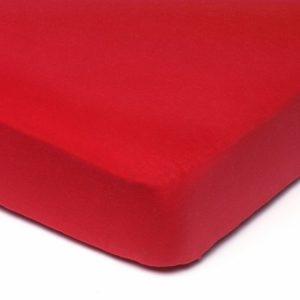Afbeelding van Babsana - Hoeslaken Jersey 40x80 cm - Rood