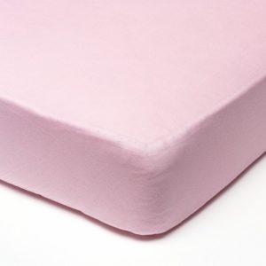 Afbeelding van Babsana - Hoeslaken Jersey 60x120 cm - Roze