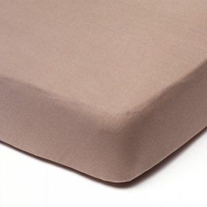 Afbeelding van Babsana - Hoeslaken Jersey 60x120 cm - Taupe