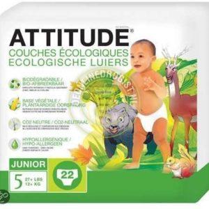 Afbeelding van Attitude luiers junior 5     * 22 st
