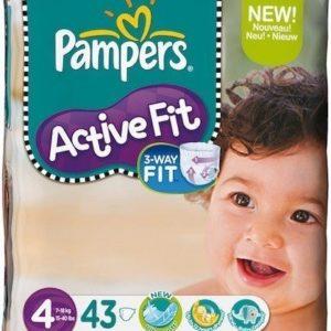 Afbeelding van Pampers Active Fit  - Luiers Maat 4 - Voordeelpak Maxi 43st