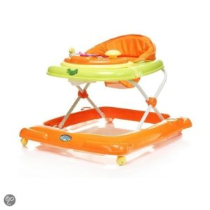 Afbeelding van 4Baby - Loopstoel 1 Steps - Oranje