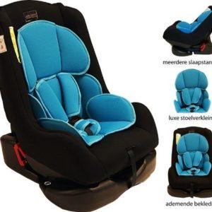 Afbeelding van Bebies First - Autostoel Remi Luxe Colorful - Black Turquoise