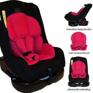Afbeelding van Bebies First - Autostoel Remi Luxe Colorful - Black Pink