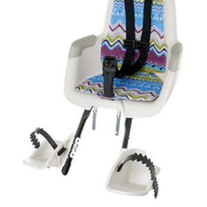 Afbeelding van Bobike - Mini Classic Fietsstoeltje met Kussenset - Tribal Kleur