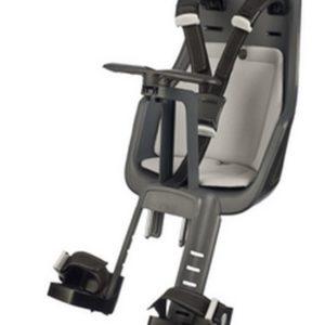 Afbeelding van Bobike - Mini Exclusive Fietsstoeltje met Kussenset - Urban Grijs