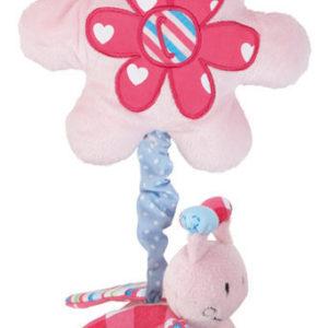 Afbeelding van bébé-jou - Tril-Lieveheersbeestje Pluche ABC - Lichtroze