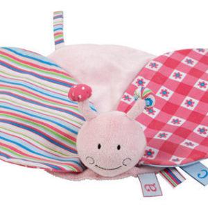 Afbeelding van bébé-jou - Tutdoekje ABC - Lichtroze