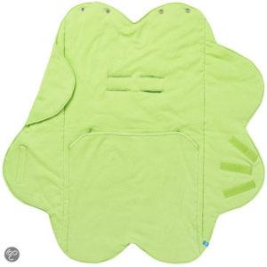 Afbeelding van Wallaboo - Baby wrapper fleur - Groen