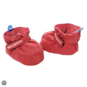 Afbeelding van Wallaboo - Baby schoentje 0-6 maanden - Rood