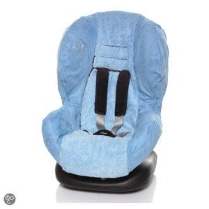 Afbeelding van Wallaboo - Autostoel zomerhoes - groep 1 - Licht blauw