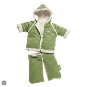 Afbeelding van Wallaboo - Baby overall 6-12 maanden - Lime