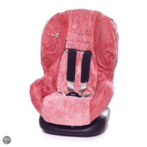 Afbeelding van Wallaboo - Autostoel zomerhoes - groep 1 - Rood