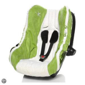 Afbeelding van Wallaboo - Autostoel zomerhoes - groep 0 - Groen