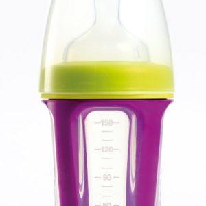 Afbeelding van Béaba - Biboz Siliconen 1ste fase Zuigfles 150 ml - Gipsy